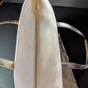Victoria's Secret Bags - NWT Victoria's Secret Gold Sequin Glitter Tote